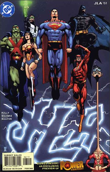 JLA 61-A by DC