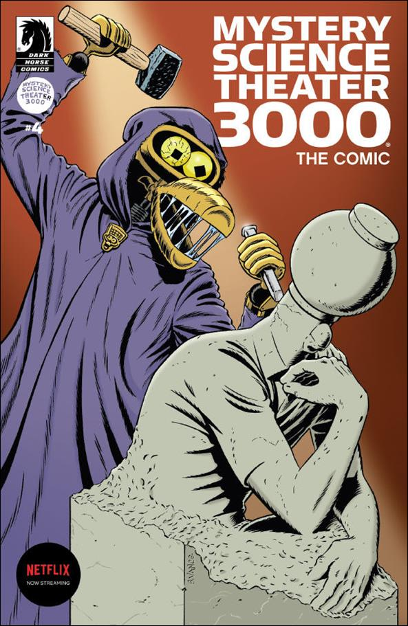 Mystery Science Theater 3000 4-B by Dark Horse