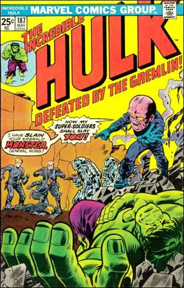 Incredible Hulk (1968) 187-A by Marvel