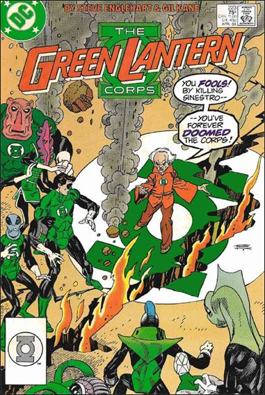 Green Lantern Corps (1986) 223-A by DC