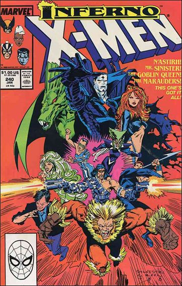 Uncanny X-Men (1981) 240-A by Marvel