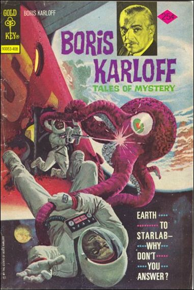 Boris Karloff Tales of Mystery 56-A by Gold Key