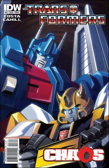 Transformers (2009) 27-A by IDW