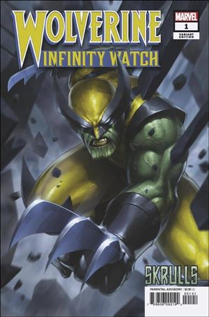 Wolverine: Infinity Watch 1-B