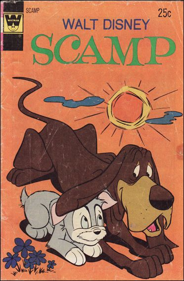 Walt Disney Scamp 18-B by Gold Key