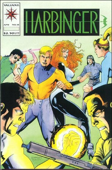 Harbinger (1992) 16-A by Valiant