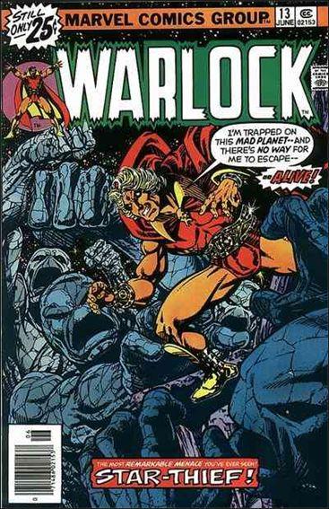 Warlock (1972) 13-A by Marvel