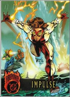 OutBurst: DC FirePower (Base Set) 71-A by Fleer/SkyBox
