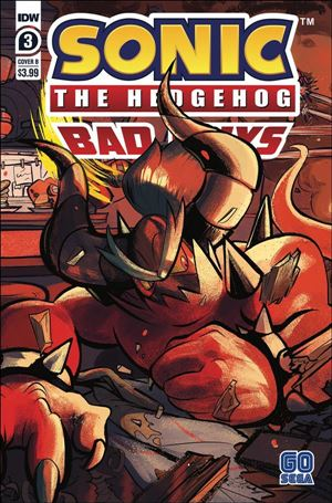 Sonic the Hedgehog: Bad Guys 3-B