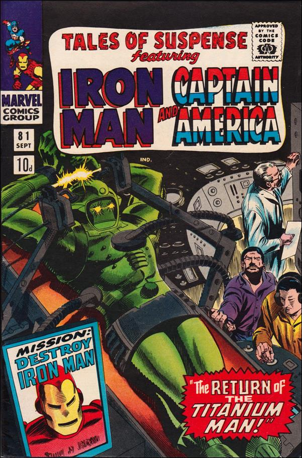 Tales of Suspense (1959) 81-B by Marvel