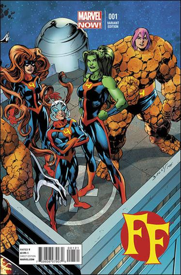 FF (2013) 1-C by Marvel