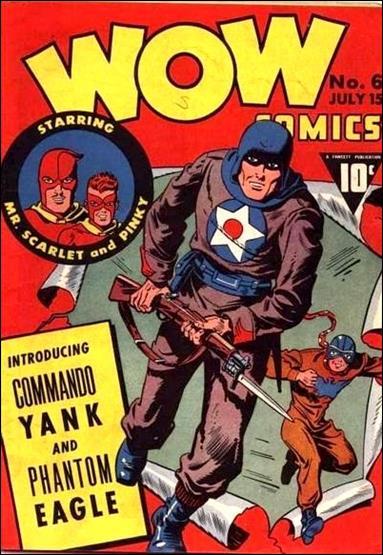 Wow Comics (1940) 6-A by Fawcett