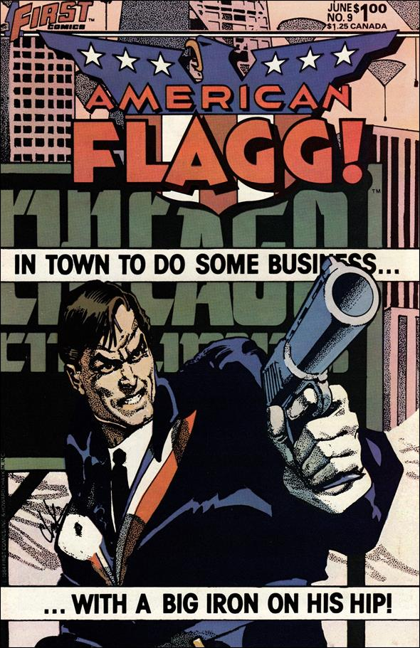 American Flagg! (1983) 9-A by First