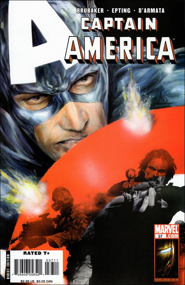 Captain America (2005) 37-A by Marvel