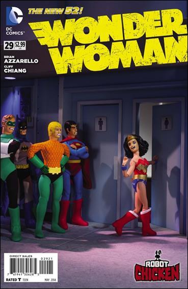 Wonder Woman (2011) 29-B by DC