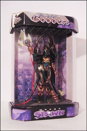 Spawn (Series  9) Goddess (Display Case Edition Repaint)
