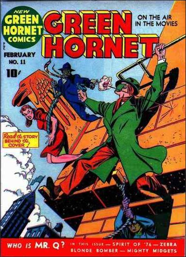 Green Hornet Comics 11-A by Harvey