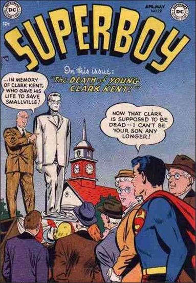 Superboy (1949) 19-A by DC