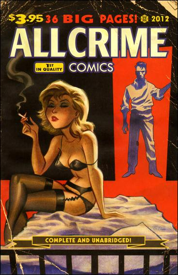 All Crime Comics 1-A by Art of Fiction