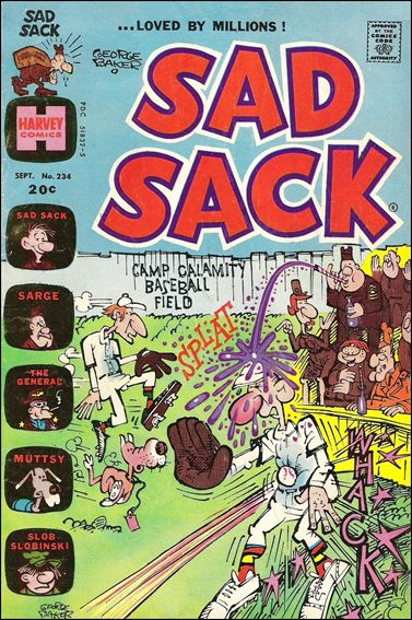 Sad Sack 234-A by Harvey