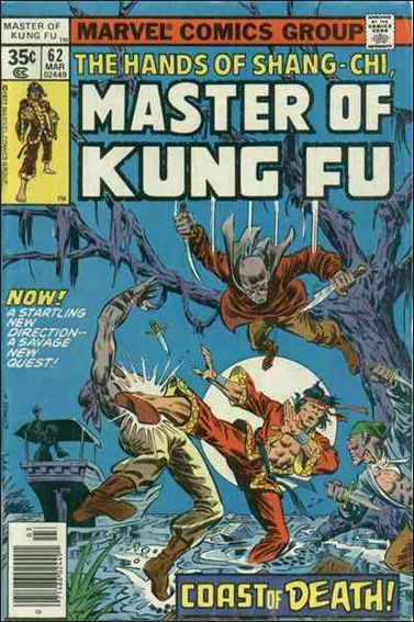 Master of Kung Fu 62-A by Marvel