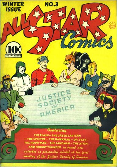 All Star Comics (1940) 3-A by DC