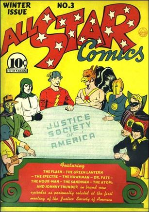 All Star Comics (1940) 3-A