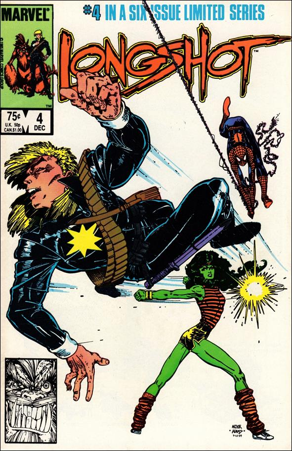 Longshot (1985) 4-A by Marvel