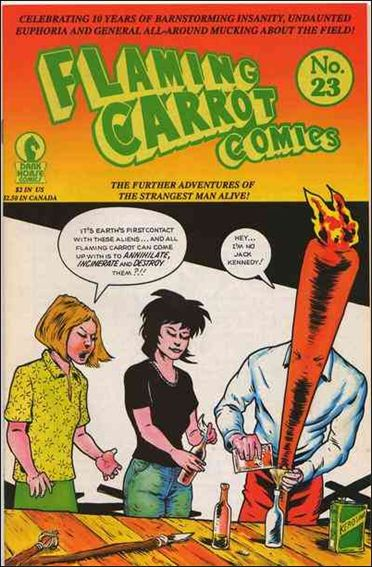 Flaming Carrot Comics (1984) 23-A by Dark Horse