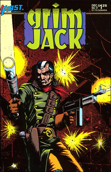 Grimjack 17-A by First