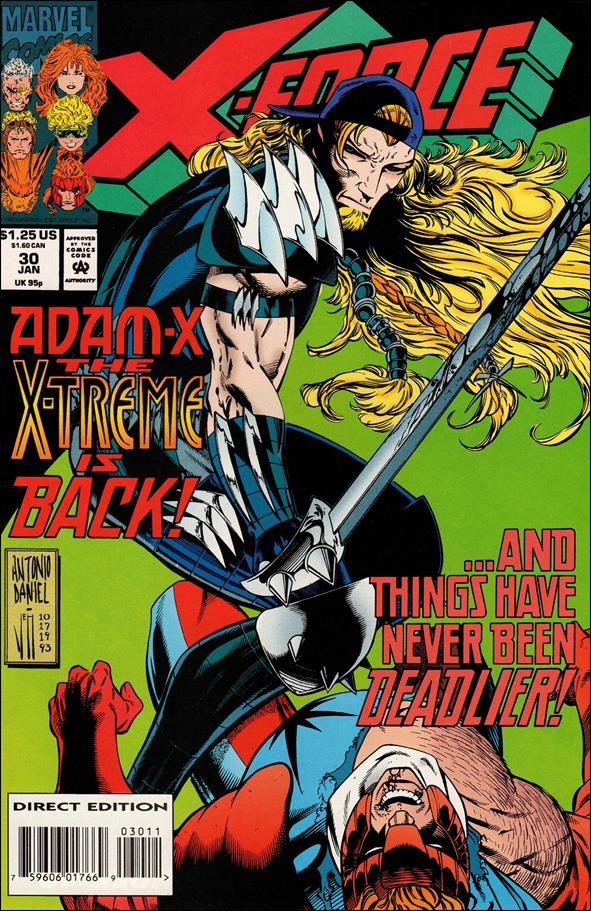 X-Force (1991) 30-A by Marvel