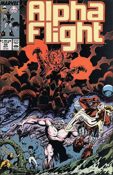 Alpha Flight (1983) 58-A by Marvel