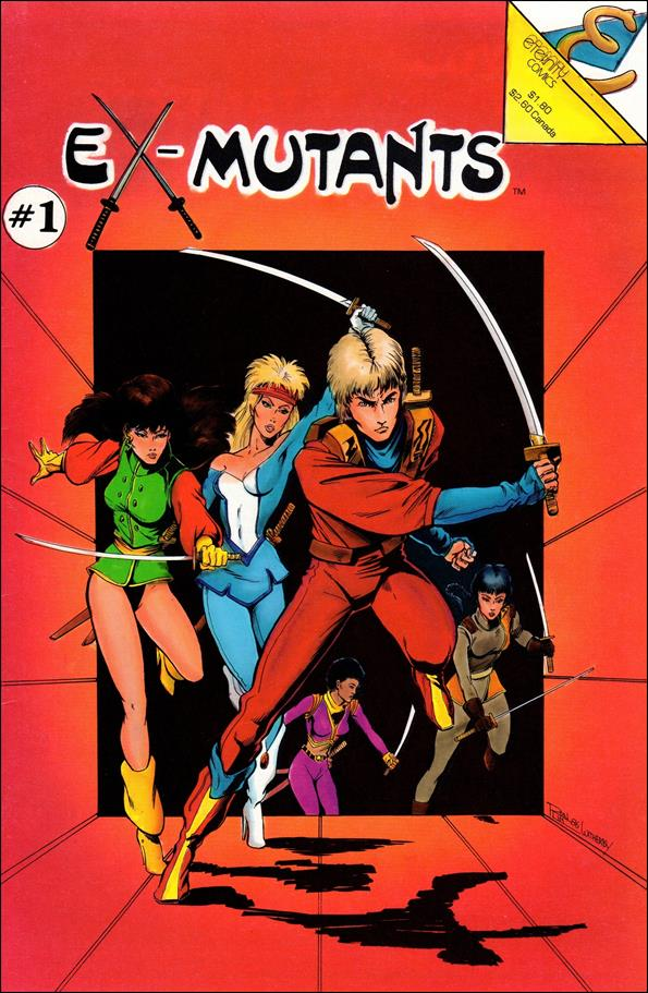 Ex-Mutants (1986) 1-A by Eternity