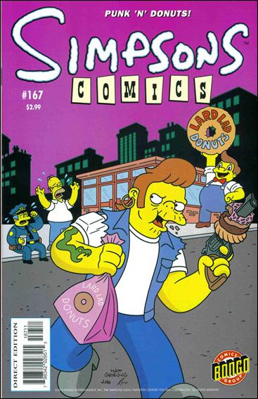 Simpsons Comics 167-A by Bongo