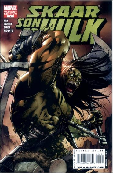 Skaar: Son of Hulk 4-B by Marvel