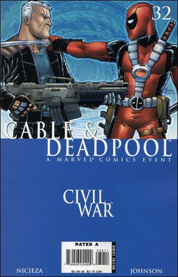 Cable & Deadpool 32-A by Marvel