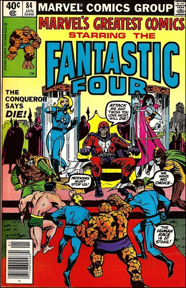 Marvel's Greatest Comics 84-A by Marvel