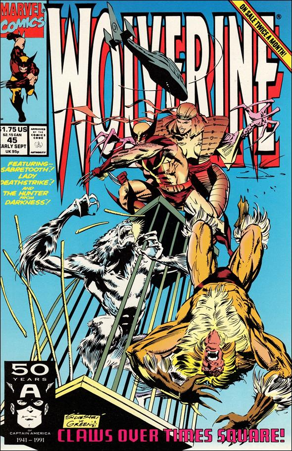 Wolverine (1988)  45-A by Marvel