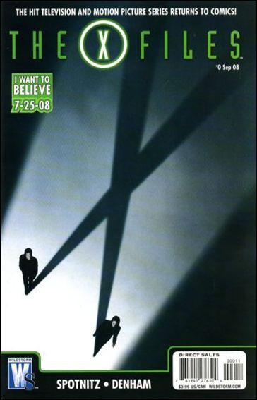 X-Files (2008) 0-A by WildStorm