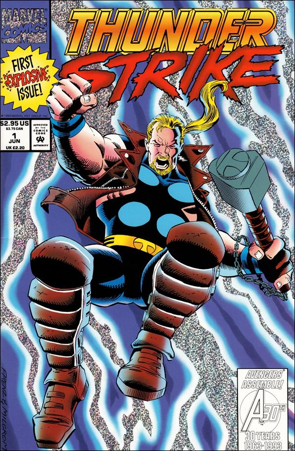 Thunderstrike (1993) 1-A by Marvel