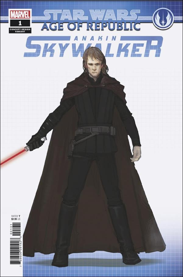 Star Wars: Age of Republic - Anakin Skywalker 1-B by Marvel