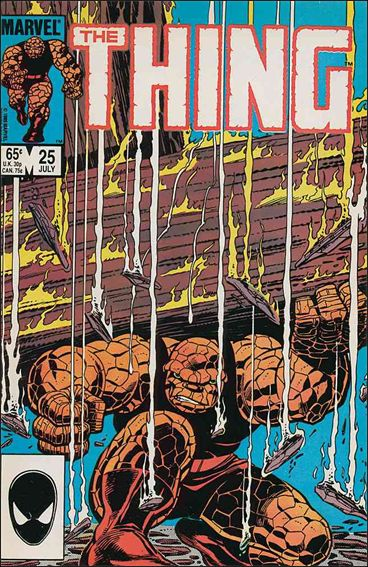 Thing (1983) 25-A by Marvel