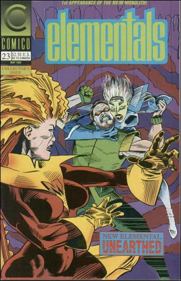 Elementals (1989) 23-A by Comico