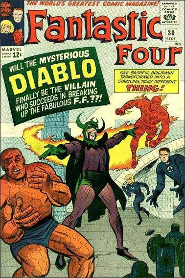 Fantastic Four (1961) 30-A by Marvel