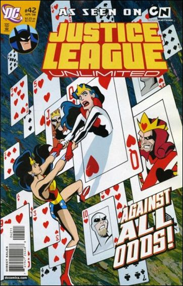 Justice League Unlimited 42-A by DC