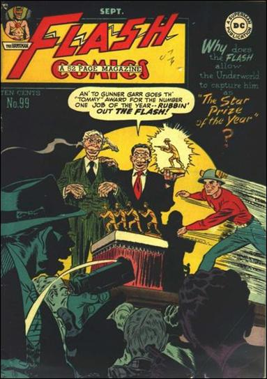 Flash Comics (1939) 99-A by DC