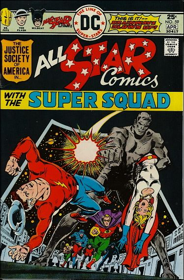 All Star Comics (1940) 59-A by DC