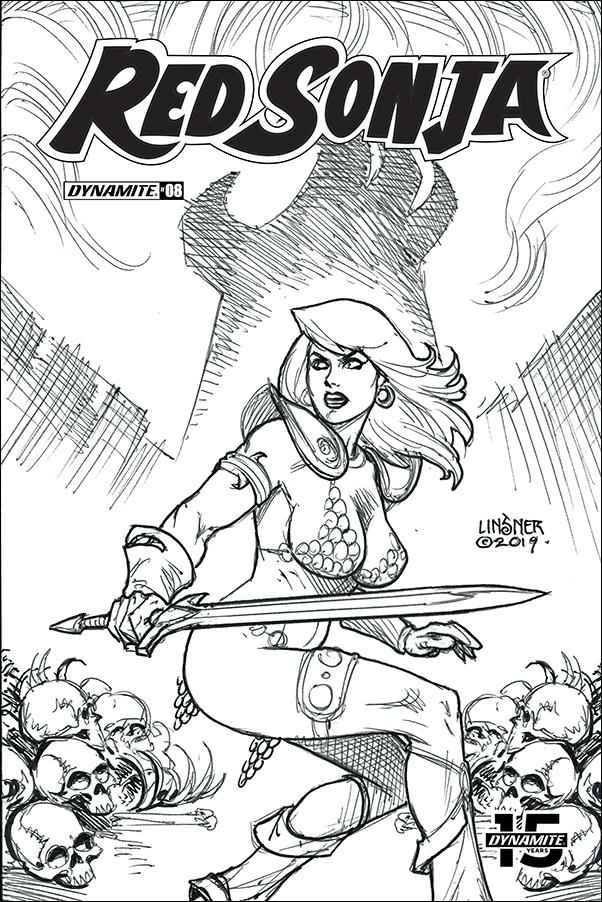 Red Sonja (2019) 8-M by Dynamite Entertainment