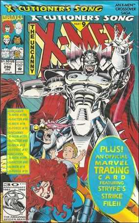 Uncanny X-Men (1981) 296-A