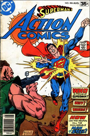 Action Comics (1938) 486-A by DC